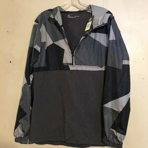 Under Armour Mens Sportstyle Wind Anorak Jacket Bl